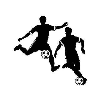 """Niño fútbol siluetas 27½ """"y 28"""""""