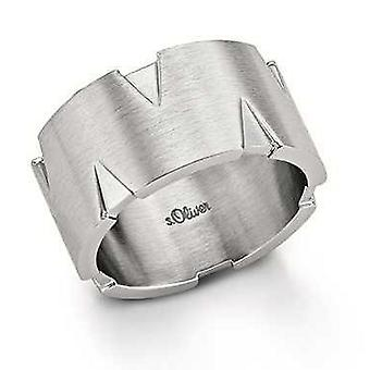 s.Oliver Jewel Men Ring stainless steel SO923