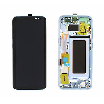 Genuine LCD Screen Assembly Samsung Galaxy S8 Blue | iParts4U