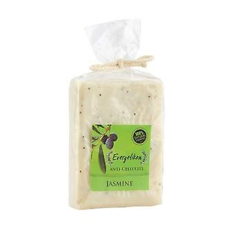 Natural, anti-cellulite soap with cretan extra virgin olive oil and jasmine.