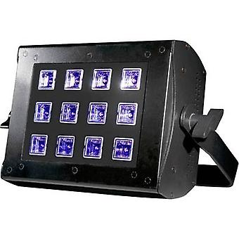 ADJ UV FLOOD 36 UV floodlight LED (monochromatyczny) 36 W Black