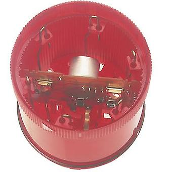 Signal tower component LED Werma Signaltechnik KombiSIGN 71 Red Non-stop light signal 24 V DC