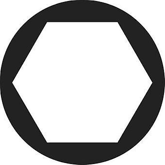 TOOLCRAFT 815390 Hexagonal nuts M6 Steel zinc plated 50 pc(s)