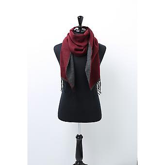 Asquith & Fox Unisex två Tone Tassled halsduk