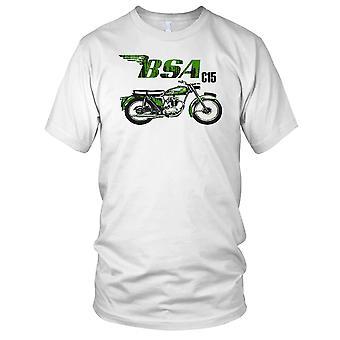 BSA C15 klassiske motorsykkel motorsykkel damer T skjorte