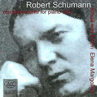 Schumann / Margolina / Von Arnim - Schumann / Margolina / Von Arnim: Complete Works Piano Duo [CD] USA import