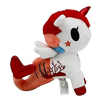 Aurora World World Tokidoki Cora Mermicorno Basic Plush, Multicolor, Small