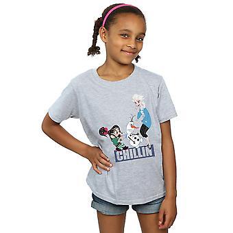 Disney Girls hylky, Ralph Elsa ja Vanellope t-paita