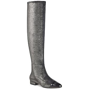 Ivanka Trump Womens Alie Pointed Toe Over Knee Fashion Boots
