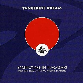 Tangerine Dream - Primavera em importação EUA Nagasaki [CD]