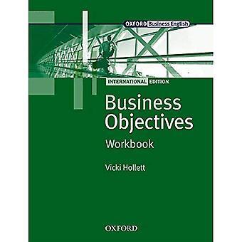 Zakelijke doelstellingen internationale editie: Business doelstellingen internationale editie werkmap