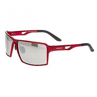 Razza Centaurus alluminio Polarized Occhiali da sole - rosso/argento