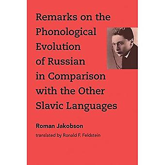 Remarks on the Phonological� Evolution of Russian in Comparison with the Other Slavic Languages (The MIT Press)