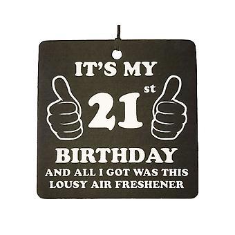 21 birthday elendig bil Air Freshener
