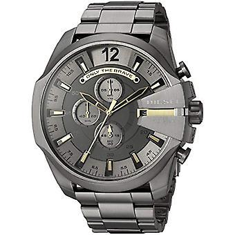 Diesel watch Chronograph quartz men with stainless steel strap DZ4466