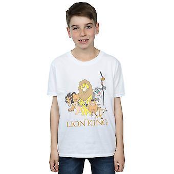 Disney jungen König der Löwen-Gruppe-t-Shirt