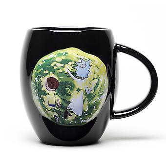 Rick und Morty Portal Oval Mug