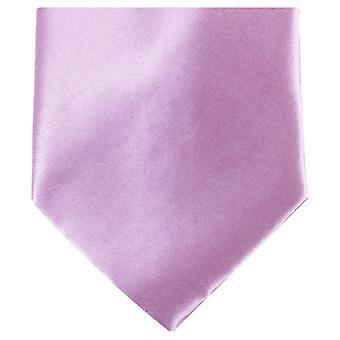 Knightsbridge halsdukar vanlig Polyester Tie - ljus lila