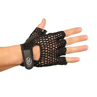 Fitness Mad Mesh Fitness Gloves in Black - Large/Extra Large
