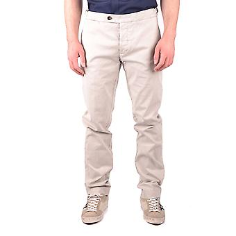 Jacob Cohen Ezbc054124 Hombres's Pantalones de Algodón Beige