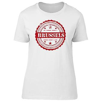 Ciudad de Bruselas Tee hombre-imagen de Shutterstock