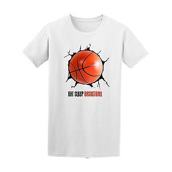 Eat Sleep Basketball Lovers Tee Men's -Image by Shutterstock