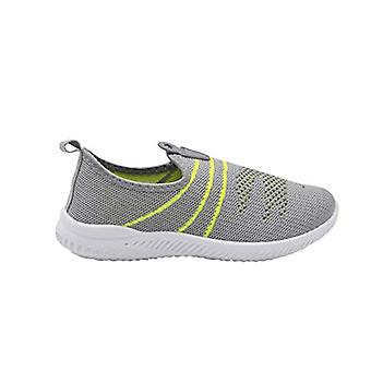 Revo Boys Sneakers Little Kid Flyknit Slip On Jogger With Rubber Pull Tab