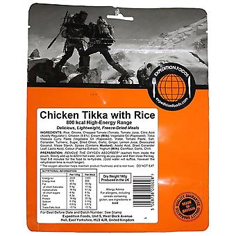 Expedition Foods Pollo Negro Tikka con Arroz