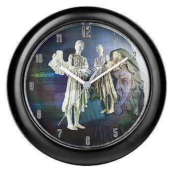 Doctor Who Weeping Angel Horloge murale lenticulaire