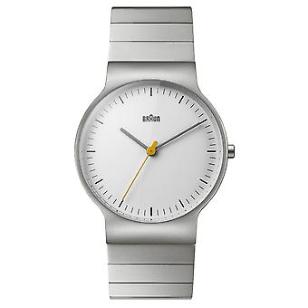 Braun classic slim Quartz Analog Man Watch with BN0211SLBTG Stainless Steel Bracelet