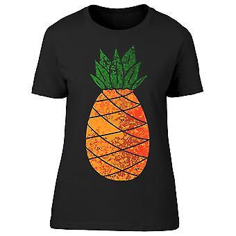 Retro Pineapple Graphic Tee Women-apos;s -Image par Shutterstock
