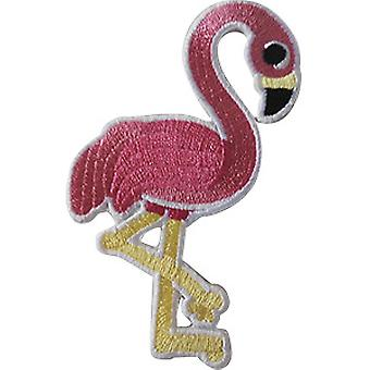 Patch - Birds - Pink Flamingo Icon-On p-dsx-4738
