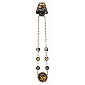 Bristol Novelty 50th Birthday Necklace