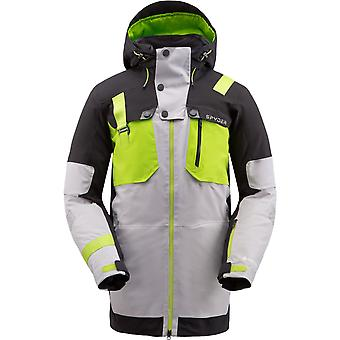Spyder TORDRILLO Men's Gore-Tex Primaloft Ski Jacket - Grey
