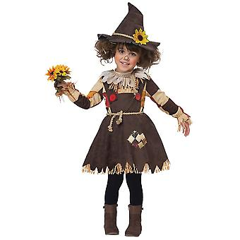Pumpkin Scarecrow Costume for Toddlers and Children