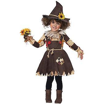 Pompoen Scarecrow kostuum voor peuters en kinderen