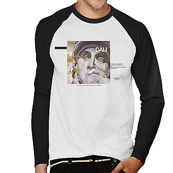 A.P.O.H Salvador Dali Ambition Quote Men's Baseball Long Sleeved T-Shirt