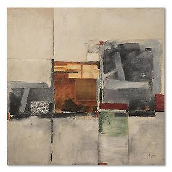 Painel do deco, composição abstrata 1