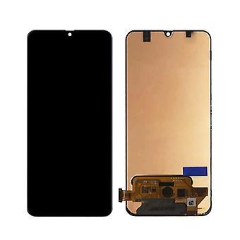 Stuff gecertificeerd® Samsung Galaxy A70 A705 scherm (touchscreen + AMOLED + onderdelen) AAA + kwaliteit-zwart