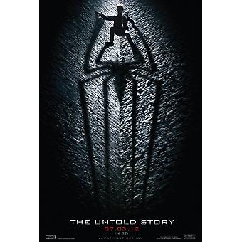 The Amazing Spider-Man Poster Double Sided Advance (Uv Coated/High Gloss) (2012) Original Cinema Poster