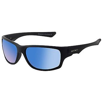 Dirty Dog Ice Matte Sunglasses - Black/Blue