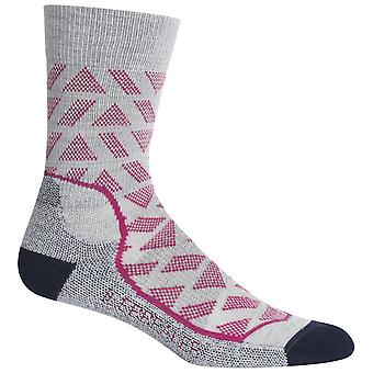 Icebreaker Stride Blizzard Womens HikeMD Light Crew Sock
