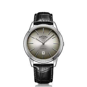 Rotary GS05390-20 Men's Cambridge Silver Tone Wristwatch