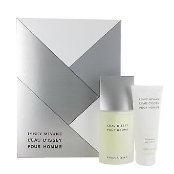 Issey Miyake L'Eau d'Issey Pour Homme 75ml Eu de Toilette Spray and 100ml Shower Gel Gift Set for Men