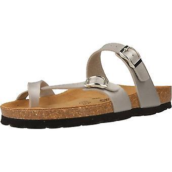 Gele winkel sandalen Sucre kleur grijs