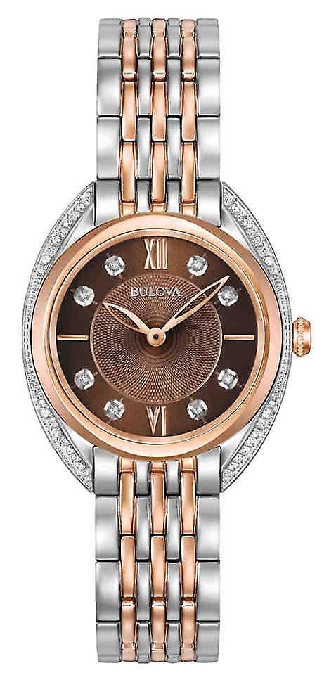Bulova 98r230 Classic Diamond Ladies Watch 30 Mm