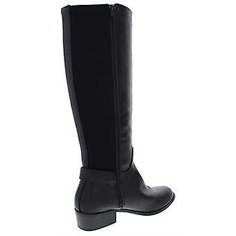 Alfani Womens Kallumm Faux Leather Tall Knee-High Boots
