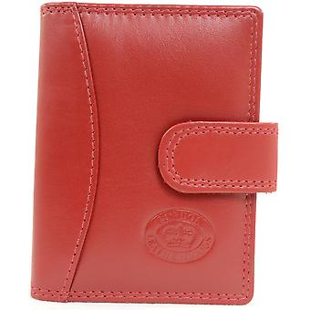 Dames / Womens / Mens Soft Leather creditcard / Travel Card / ID Card houder