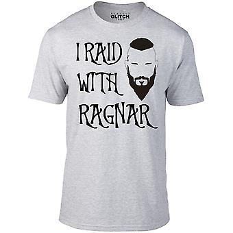 Miesten ' s i RAID kanssa Ragnar t-paita