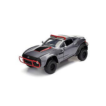 Local Motors Rally Fighter Letty's Car Diecast Model Car from Fast And Furious 8